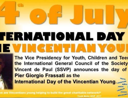 Celebrating Youth SSVP!