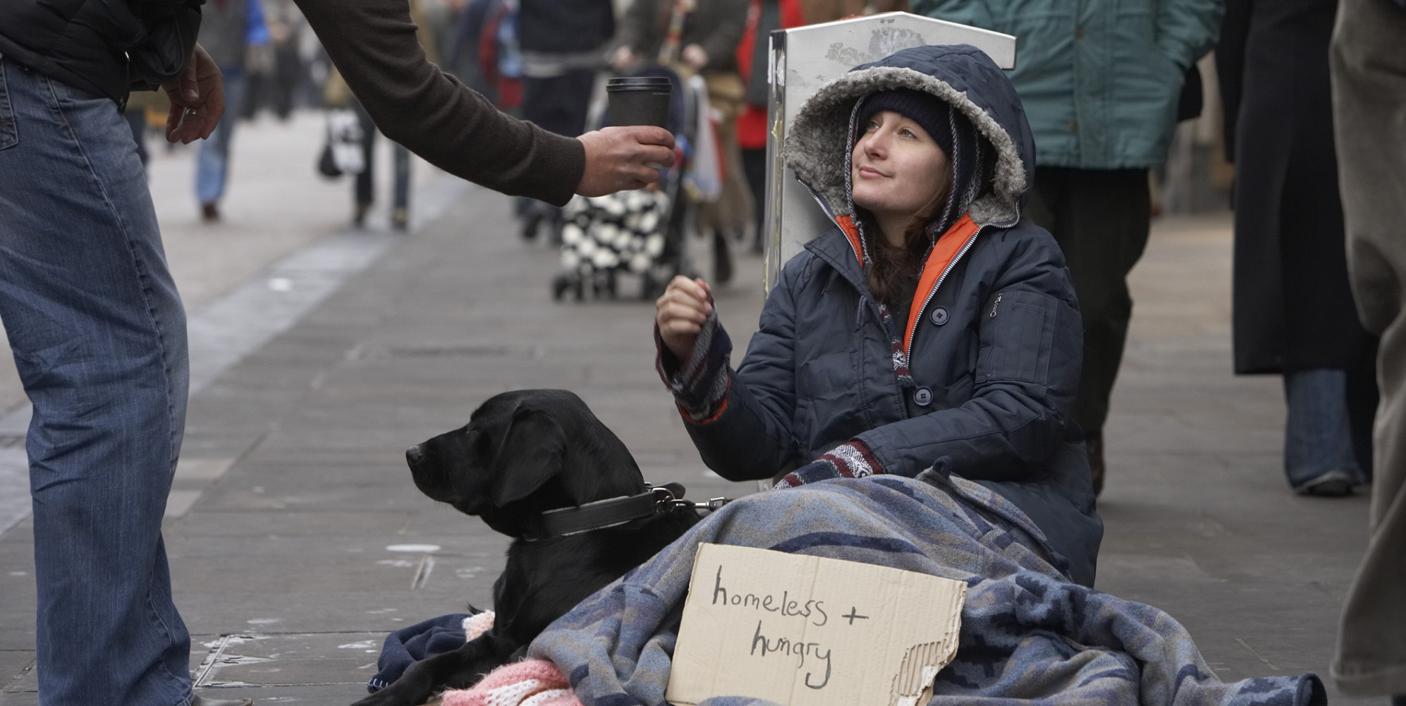 Talk to the Homeless